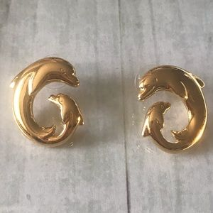 Vintage Dolphin earrings